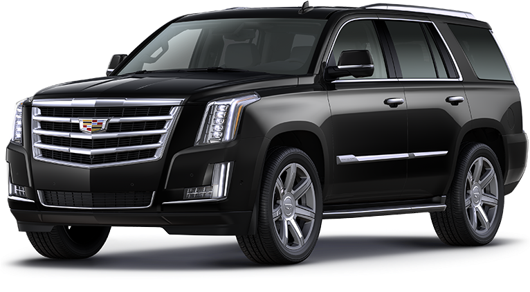 Executive Black Car SUV